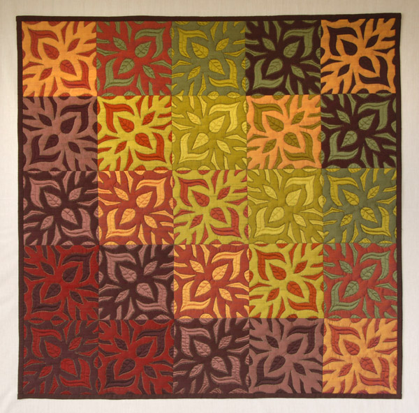Spring into Fall. SOLD - Judith Ross - Silk Quilter